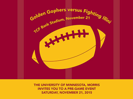Golden Gophers versus Fighting Illini